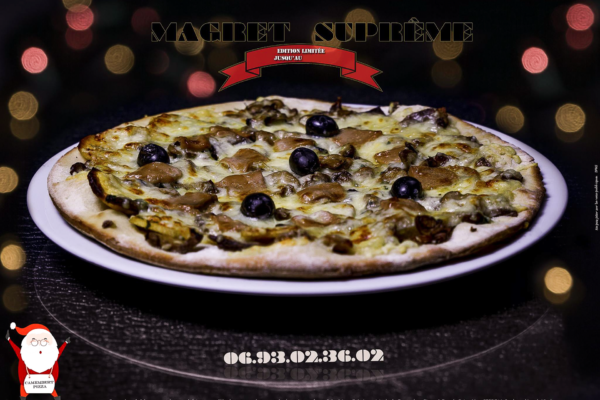 Affiche pizzeria